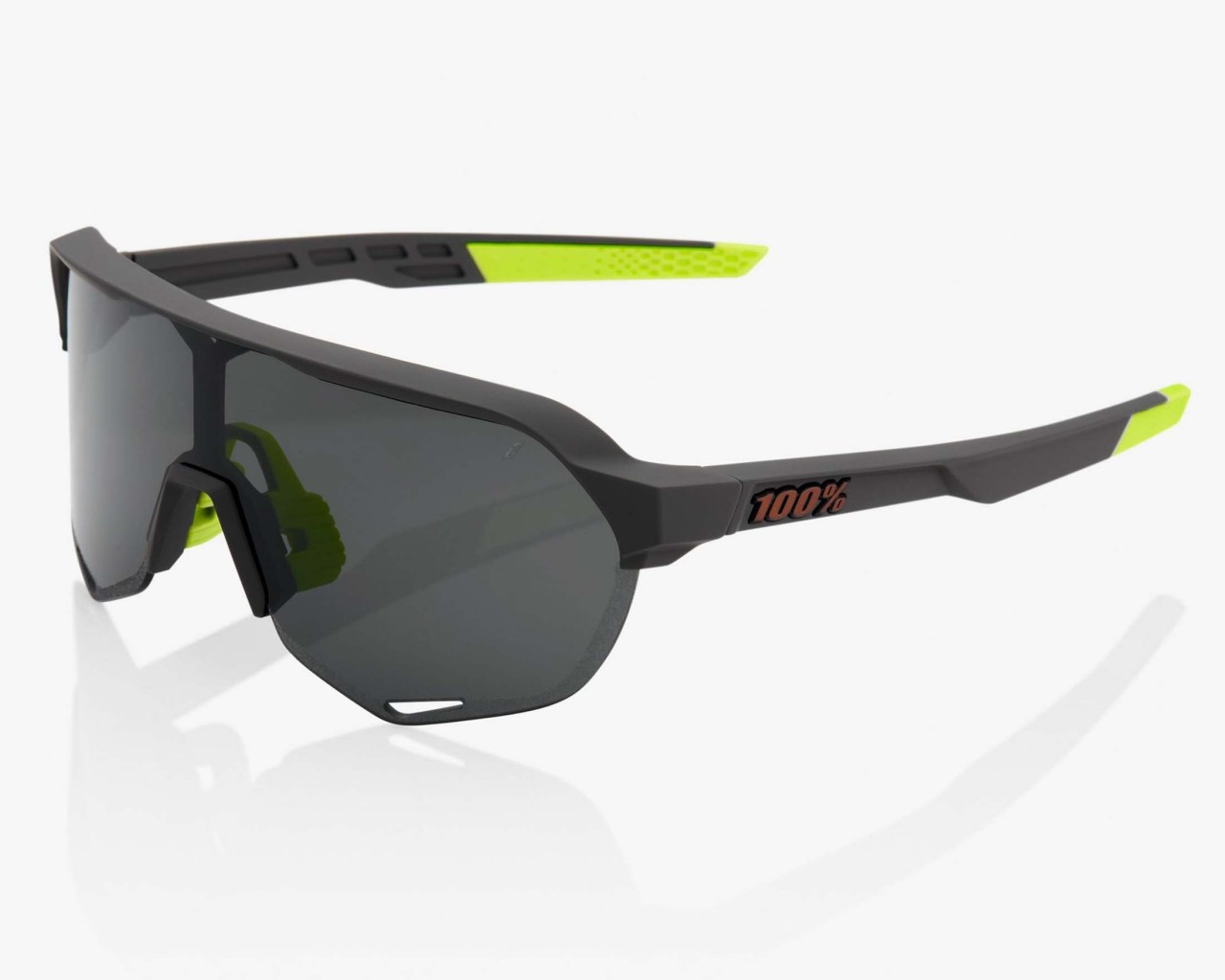 100% S2 - Smoke Lens Sports Sunglasses | soft tact cool grey