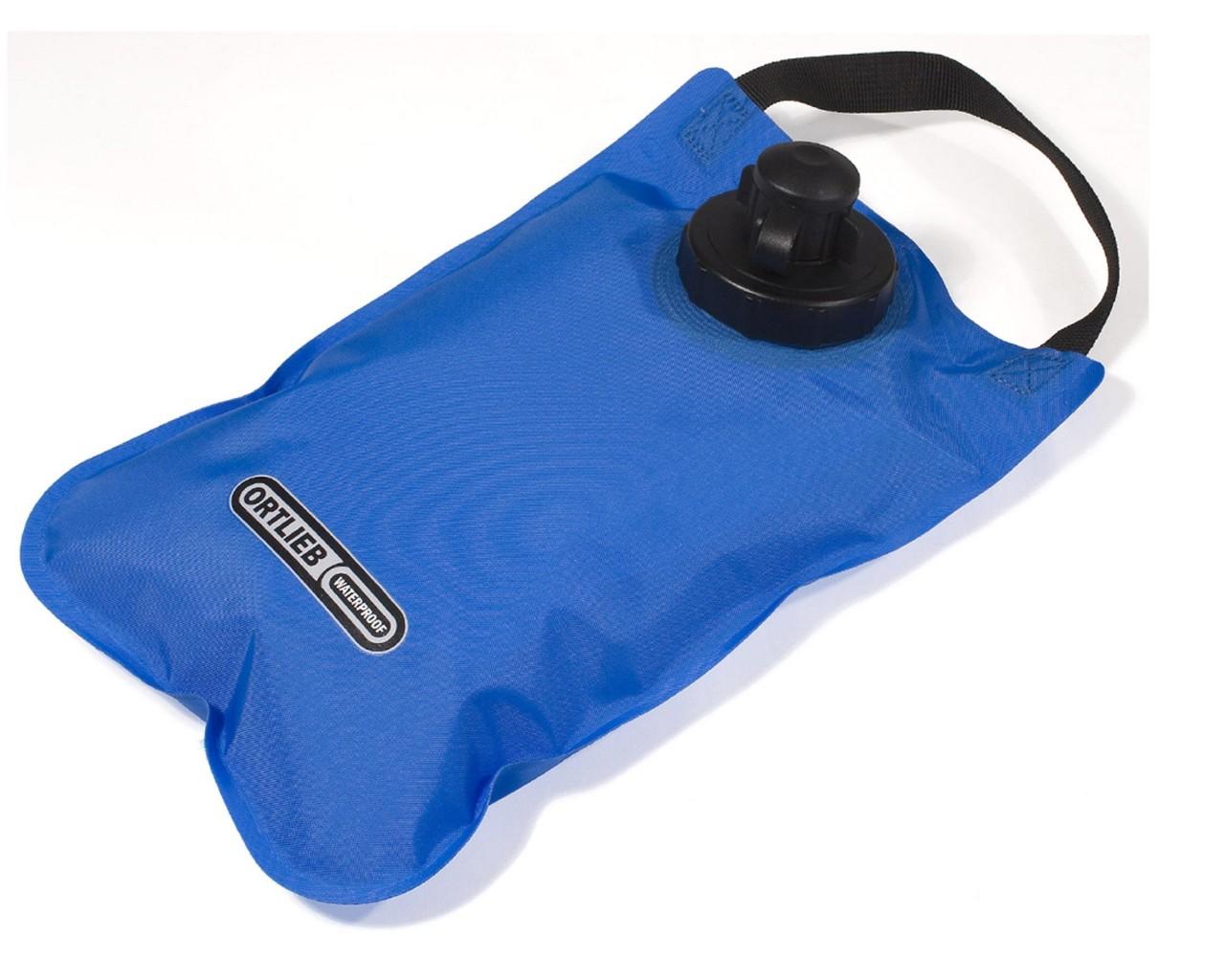 Ortlieb water bag 2 liter   blue