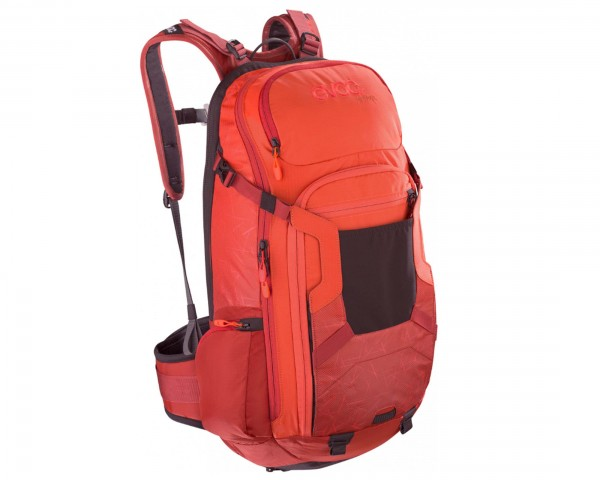 Evoc FR Trail 20 Liter Fahrradrucksack | orange-chili red