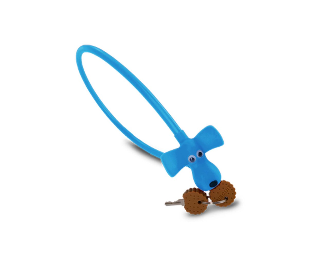 Cube RFR Cable Lock HPS Dog 10 x 450 mm | blue