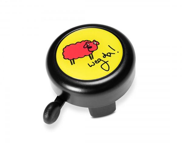 Cube RFR Fahrradklingel BUDDYS Sheep | black n yellow
