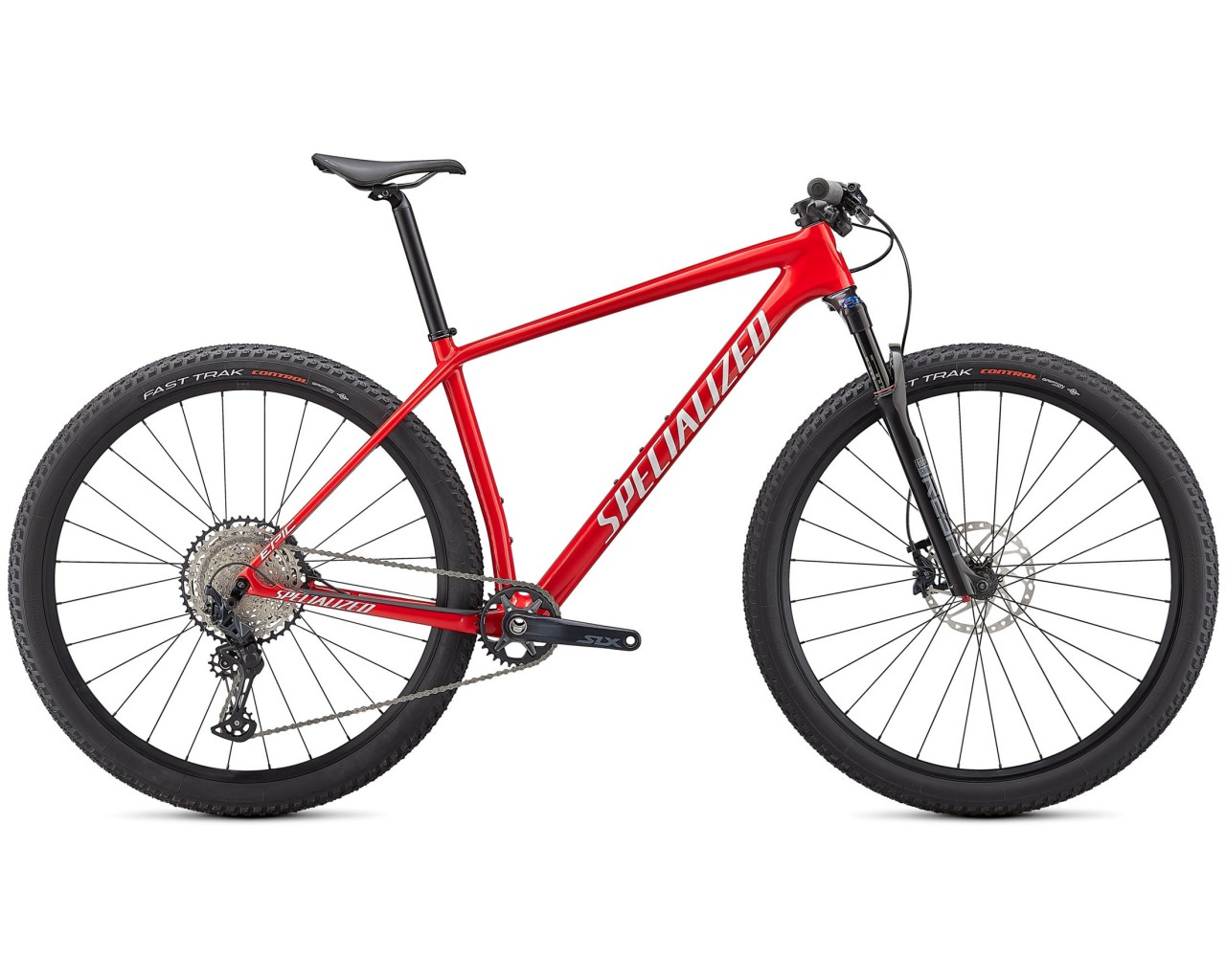 Specialized Epic HT 29 Comp - Carbon MTB Hardtail 2021 | gloss flo red with red ghost pearl-metallic