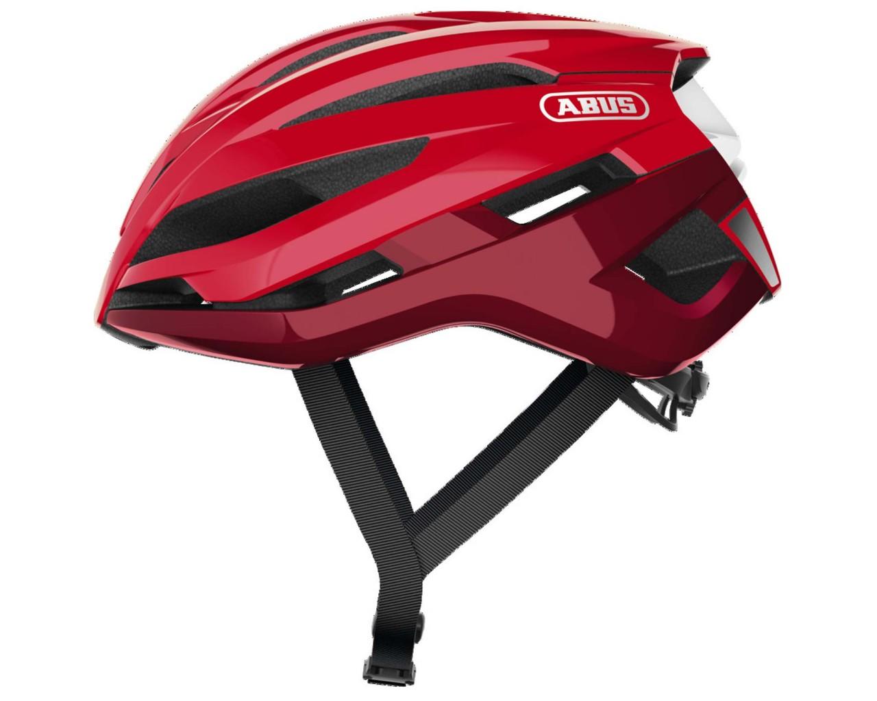 Abus StormChaser Road Bike Helmet | blaze red