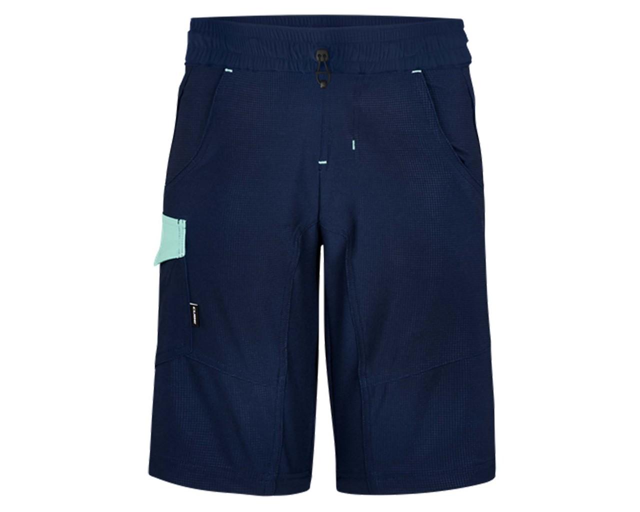Cube Junior Baggy Shorts inkl. Junior Liner/Innenhose | blue n mint