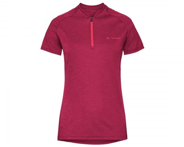 Vaude Womens Tamaro Shirt III | crimson red