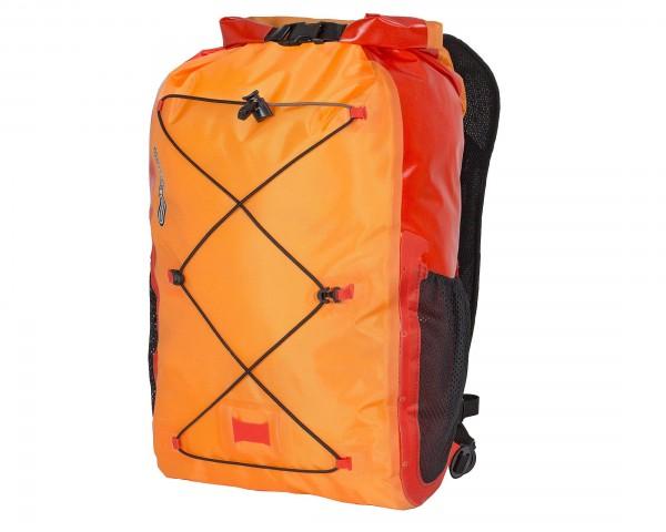 Ortlieb Light-Pack Pro 25 liter wasserdichter Rucksack PVC-frei | orange-signalrot