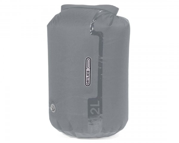 Ortlieb dry bag PS10 with valve 12 liter waterproof PVC-free | light grey