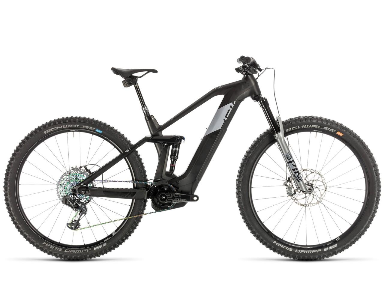 Cube Stereo Hybrid 140 HPC SLT 625 29 - Pedelec Carbon Mountain Bicycle Fullsuspension 2020   carbon n silver