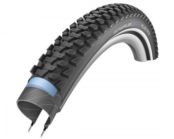 Schwalbe Marathon Plus MTB-Tire 27.5 Inch x 2.25 (57-584)   black Reflex TwinSkin DualCompound SmartGuard Wired