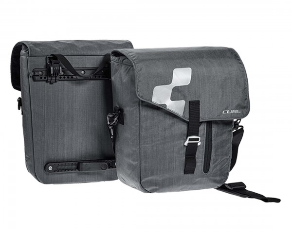Cube Panniers CITY (pair) | anthracite