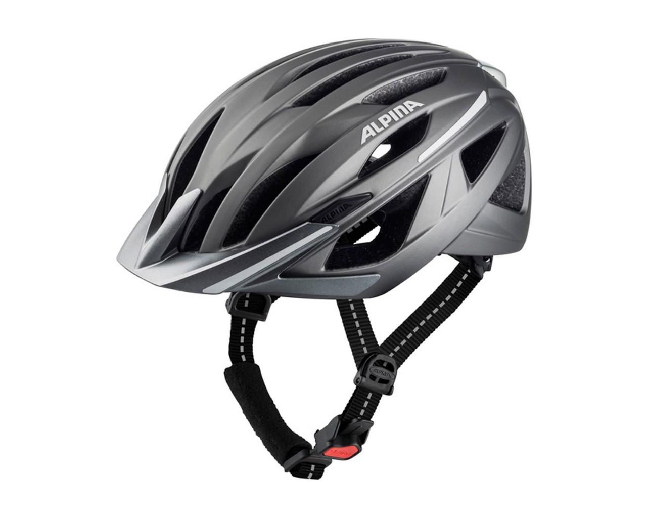 Alpina Haga MTB-Helmet | darksilver matt