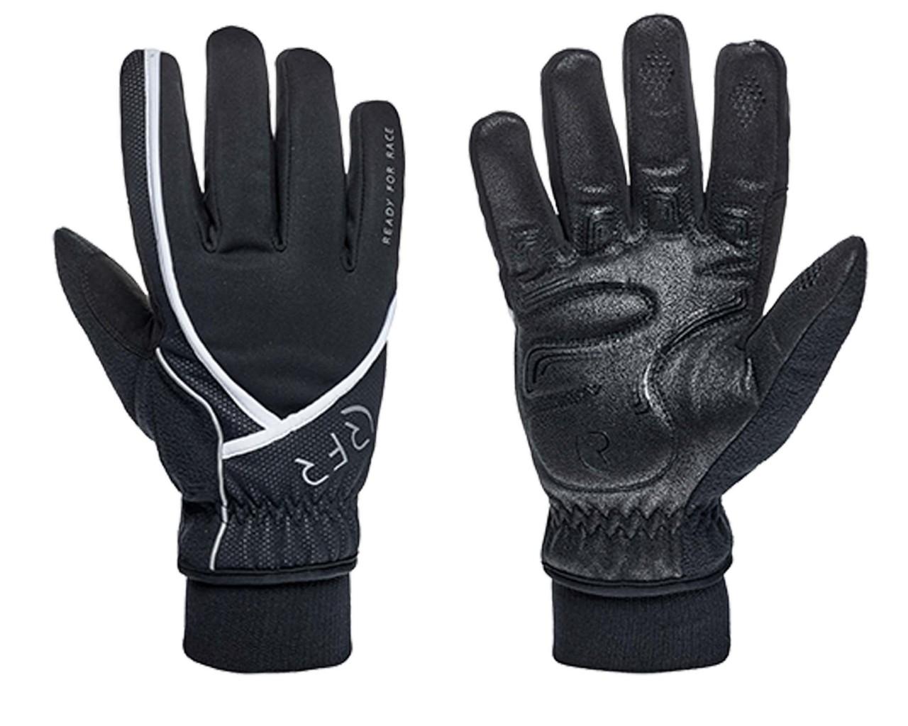 Cube RFR Gloves COMFORT ALL SEASON long finger | black n white