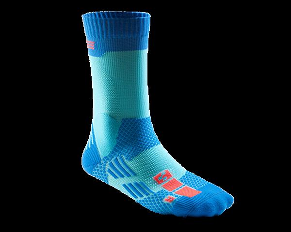Cube Socke AM Action Team 2014 | blau/neon rot