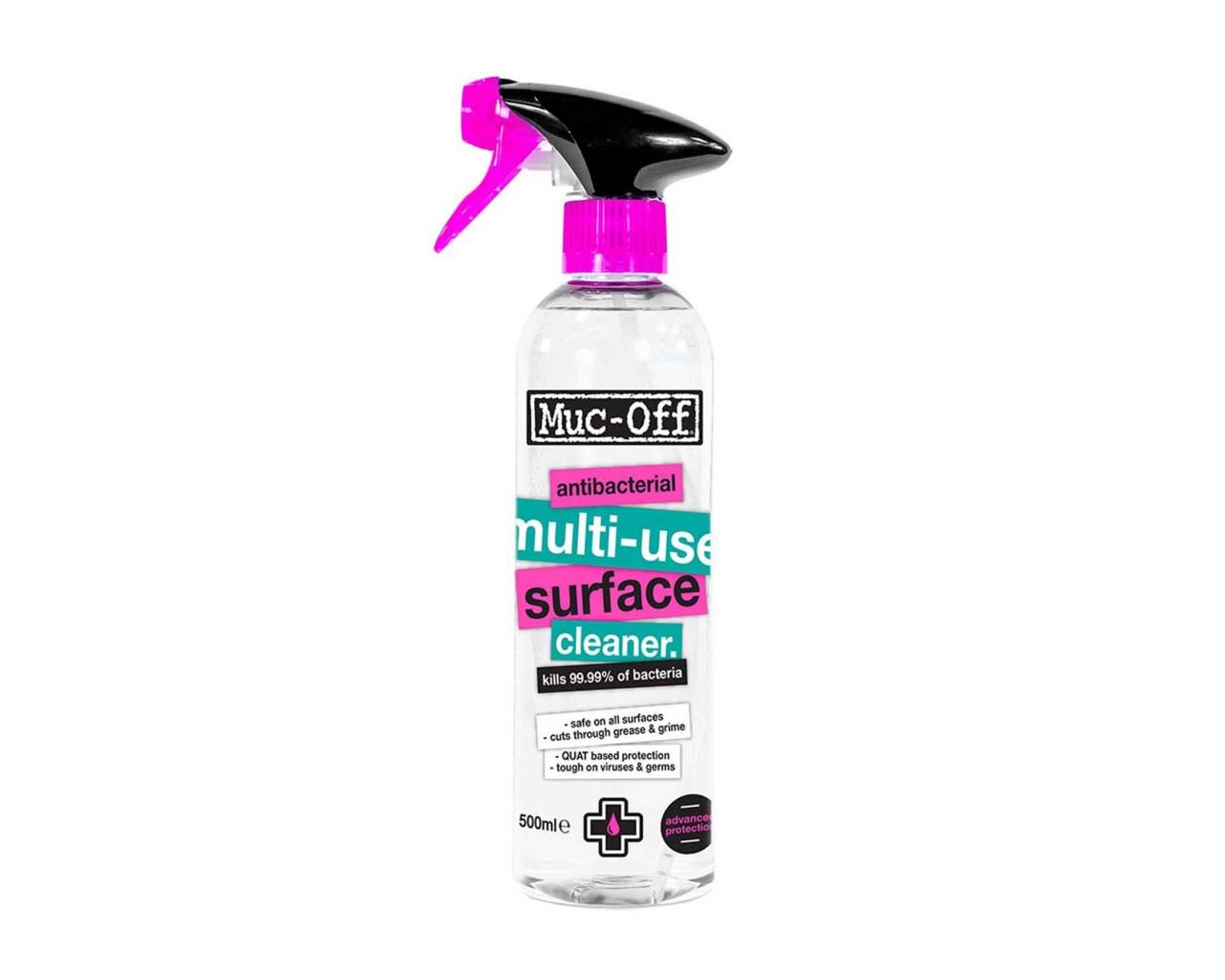Muc-Off Antibakterieller Mehrzweck-Oberflächenreiniger 500ml