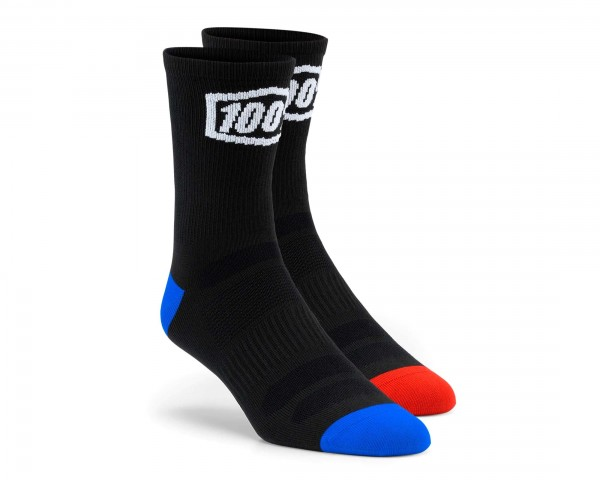 100% Terrain Socken | black