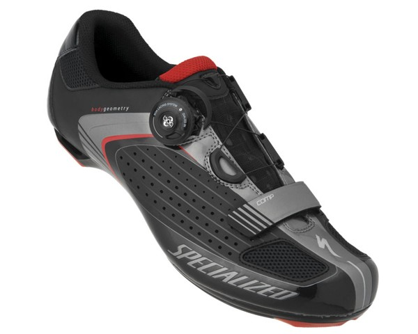 Specialized COMP ROAD Rennradschuhe 2013 | Black-Red