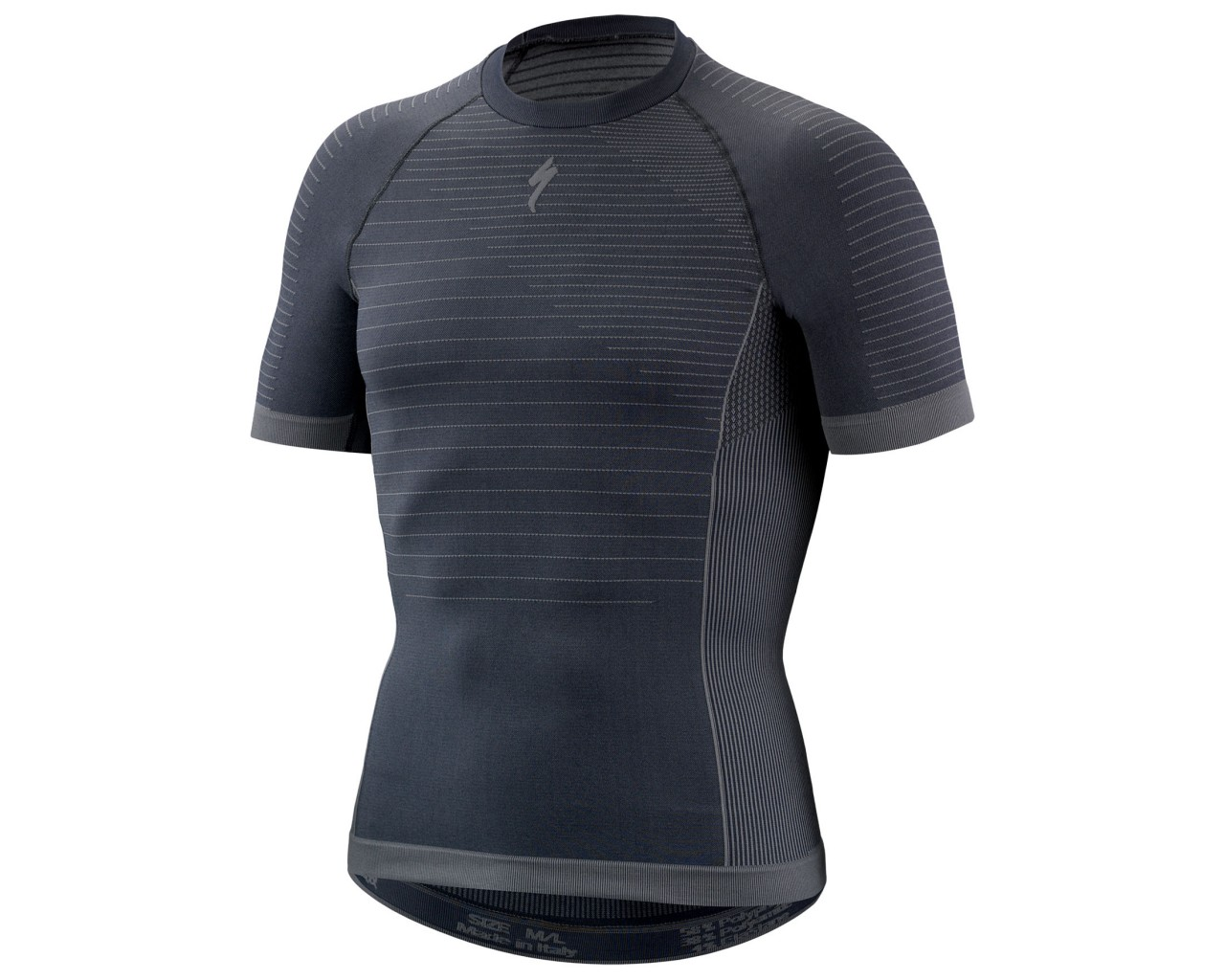 Specialized Seamless Baselayer shortssleeve   dark grey