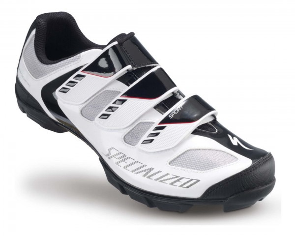 Specialized Sport MTB Shoes | White-Black