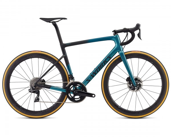Specialized S-Works Tarmac Disc Sagan Collection LTD - Carbon Road Bike 2019 | dark teal-charcoal