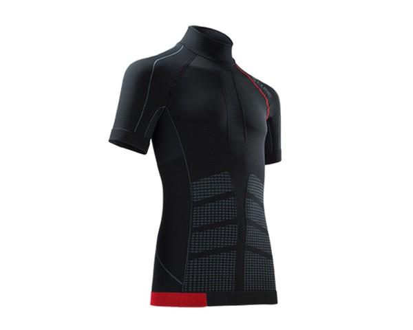 Cube Funktionsunterhemd cold conditions kurzarm Blackline | schwarz/grau/rot