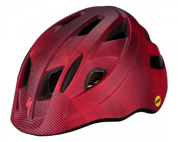 Specialized Mio MIPS Kinder Fahrrad Helm | cast berry-acid pink refraction