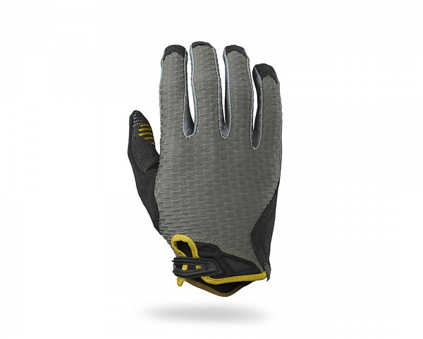 Specialized Ridge Lang-Finger Handschuhe | oak green-mustard yellow