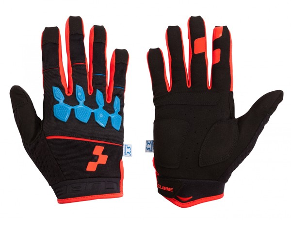 Cube Handschuhe Race Armourgel langfinger | Action Team