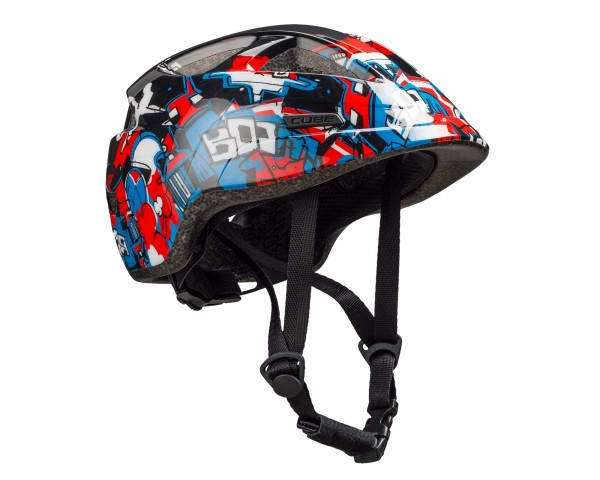 Cube Kids Cycle Helmet Lume | black graffiti