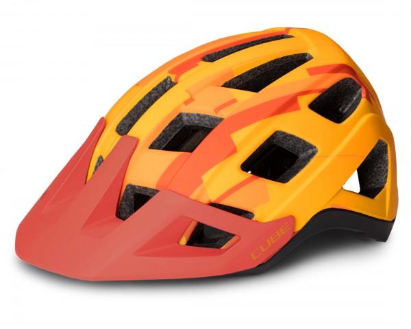 Cube Helm Badger MTB Fahrradhelm | orange camo