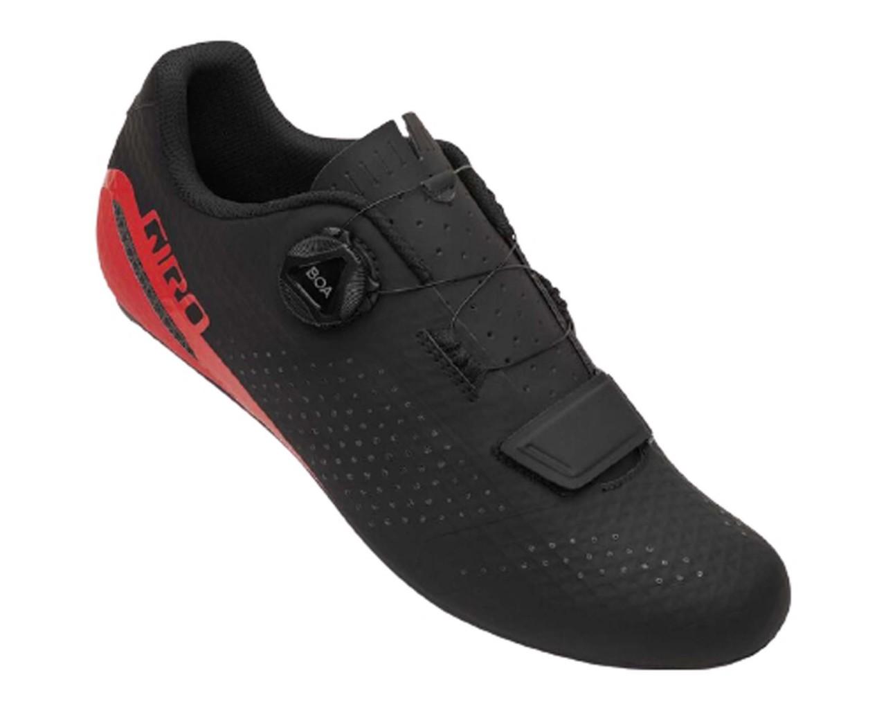 Giro Cadet - Road Shoes | black-bright red