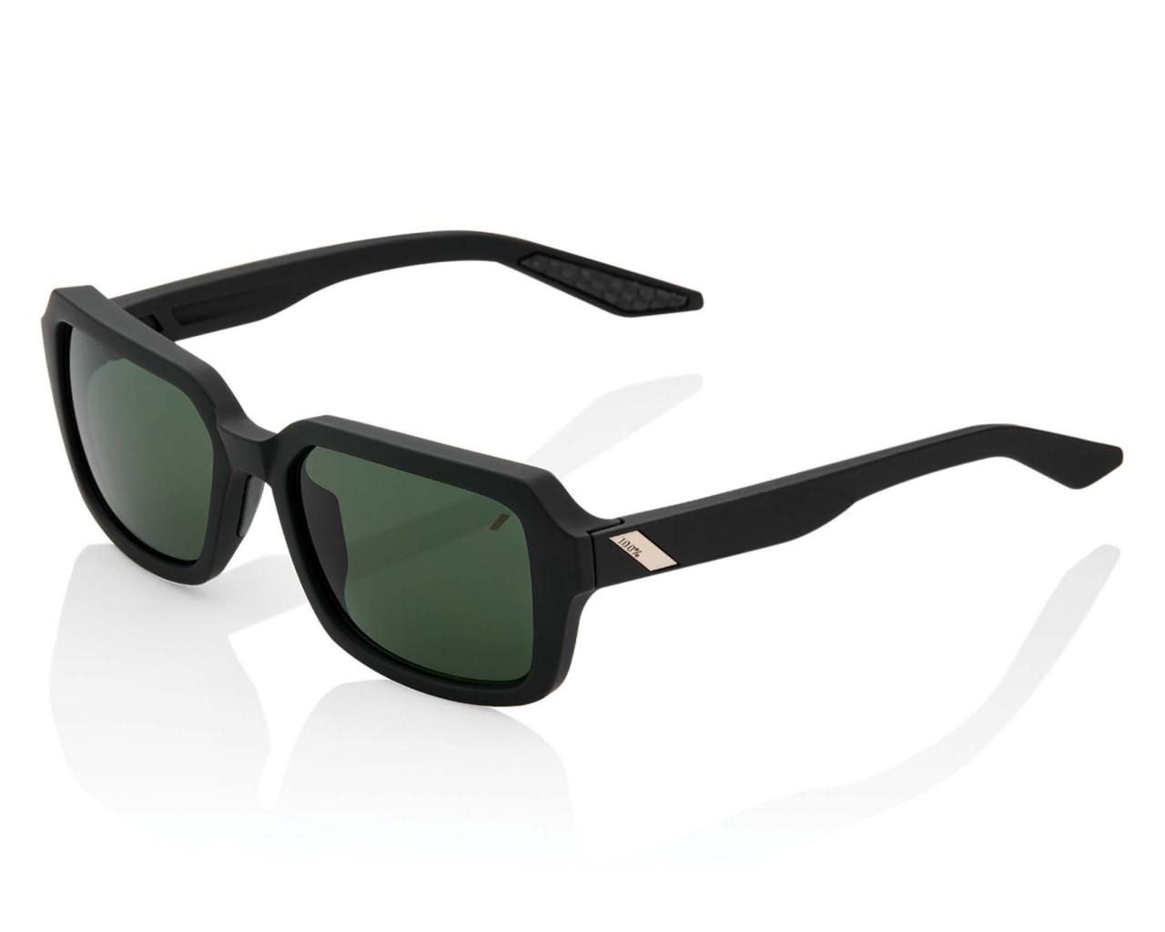 100% Rideley Smoke Lens - Sport Sonnenbrille | soft tact black