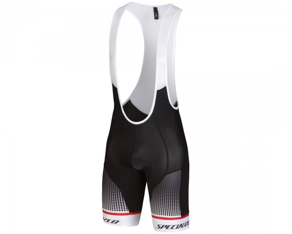 Specialized SL Expert BIB Shorts | black-white-red