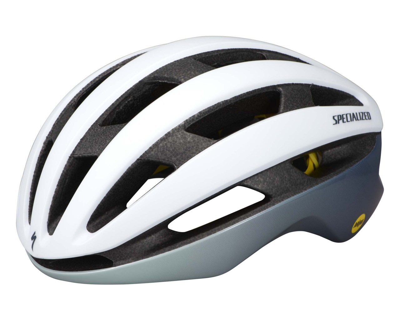 Specialized Airnet Helmet MIPS (ANGI compatible)   satin white- gloss ice blue- gloss cast blue metallic