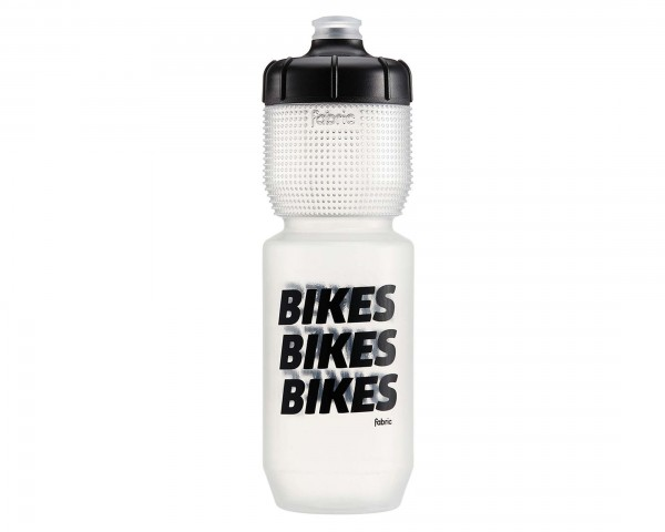Fabric Gripper BIKES Trinkflasche 750 ml | clear-black