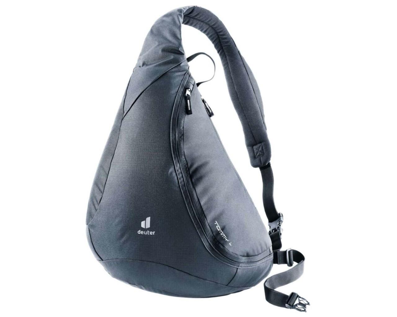 Deuter Tommy L 16 litres shoulder bag PFC-free   black