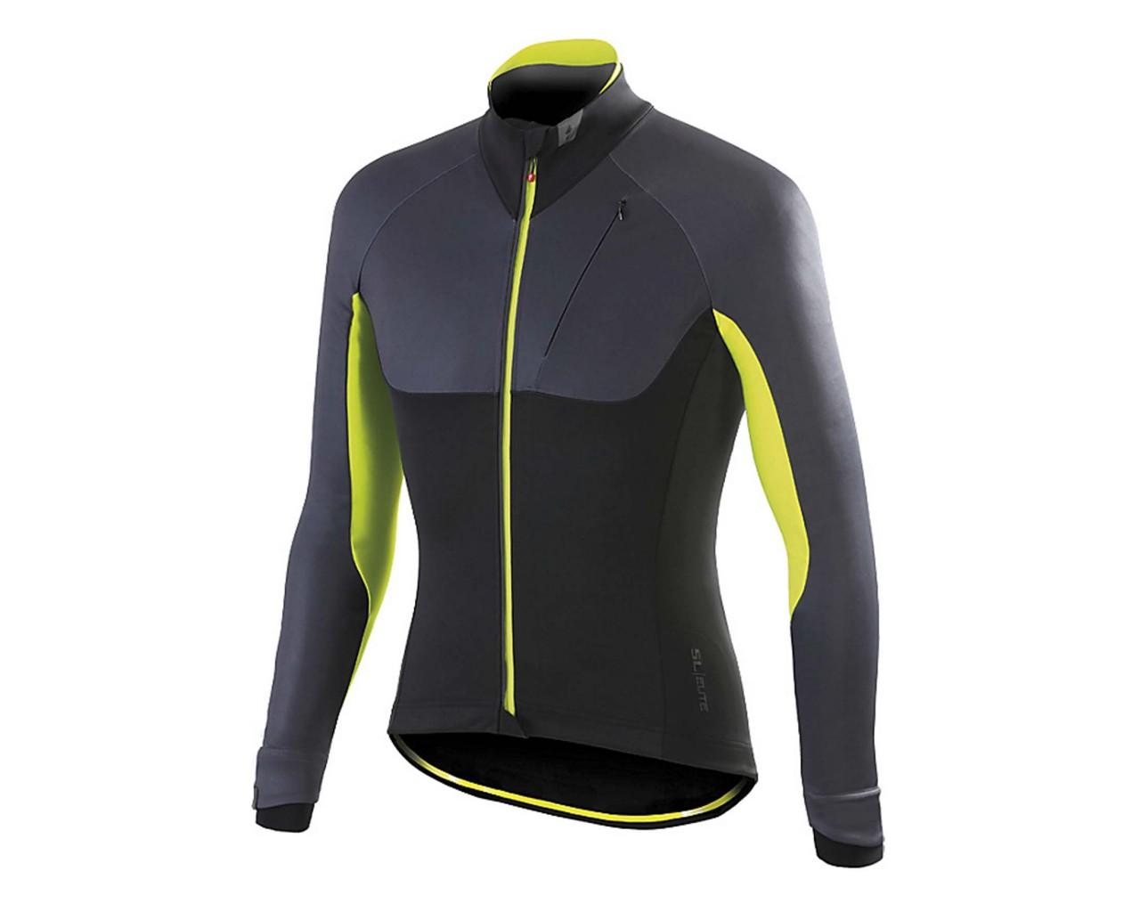 Specialized SL Elite Jacket | black-anthrazit-yellow