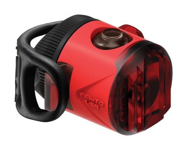 Lezyne LED Femto Drive StVZO Akku Rücklicht | rot