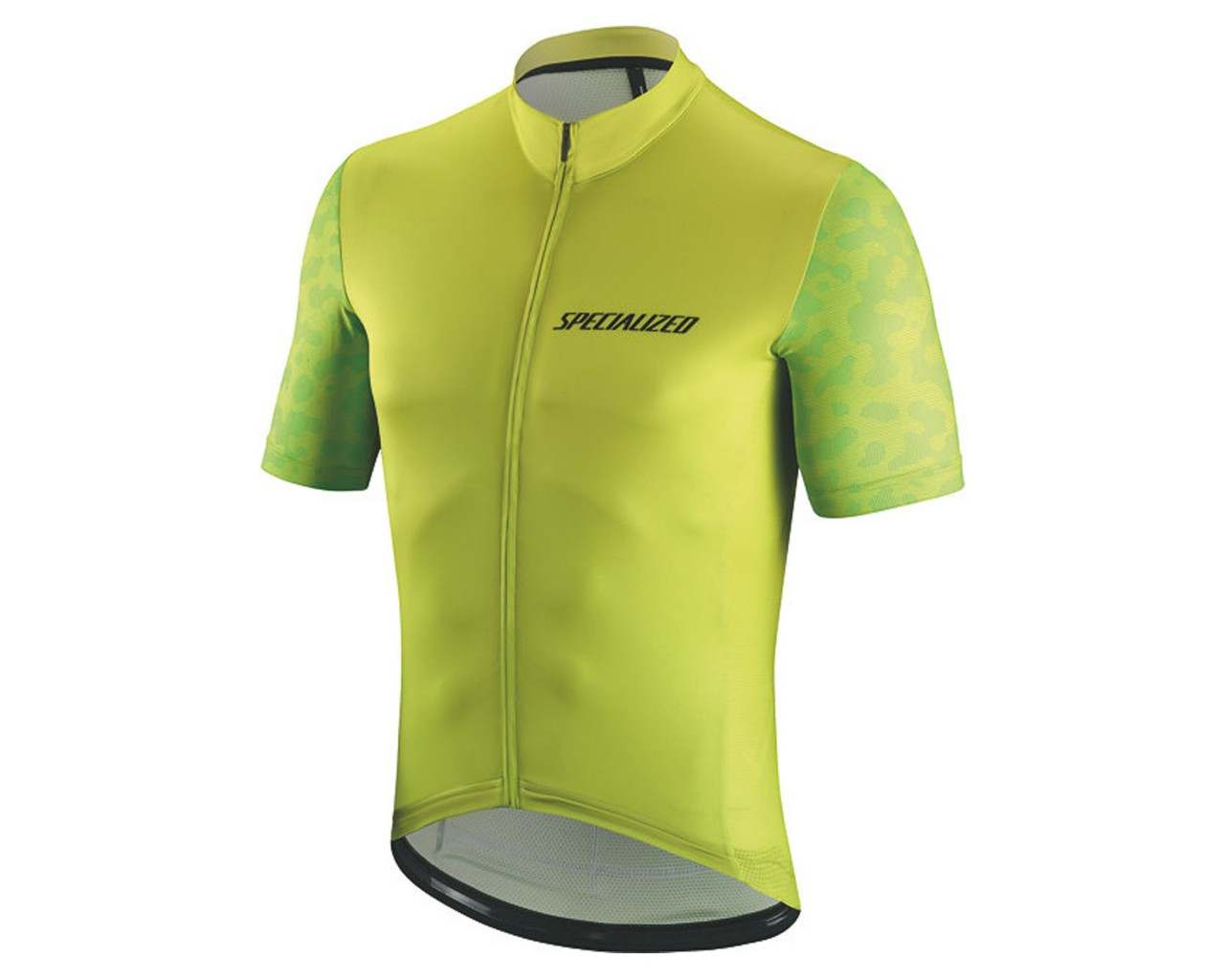 Specialized RBX Comp Terrain Jersey Short Sleeve | hyper green-monster green