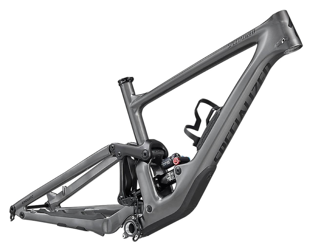 Specialized Enduro Carbon Rahmenset - MTB Fully 2021   gloss smoke-tarmac black