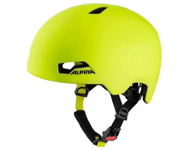 Alpina Hackney Kids Cycling Helmet   neon yellow