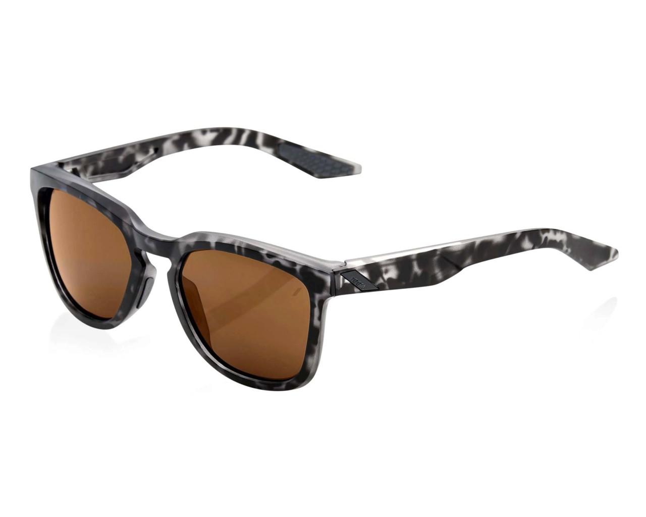 100% Hudson Smoke Lens - Sonnenbrille | matte black havana