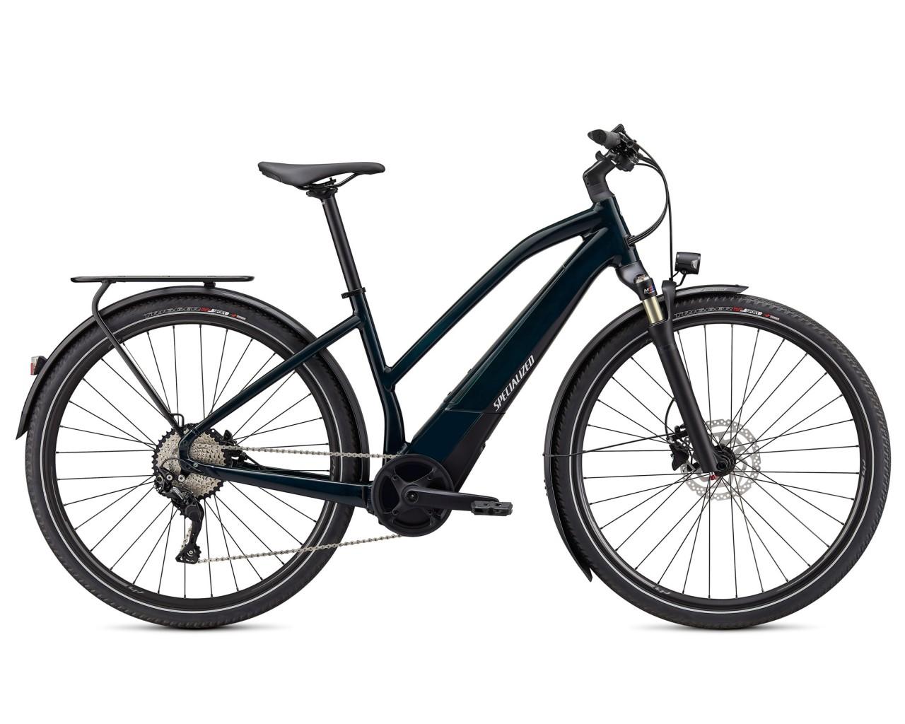 Specialized Vado 4.0 Step Through - Pedelec Trekking Bike 2021   forest green-black-liquid silver