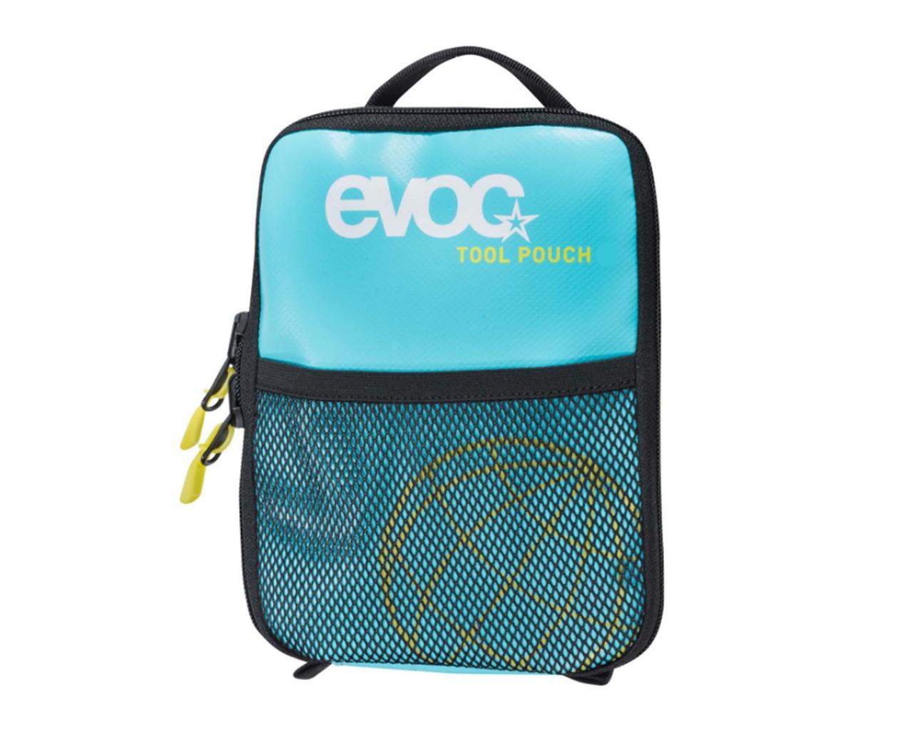 Evoc Tool Pouch 0.6 liter - wasserresistente Multifunktionstasche | neon blue