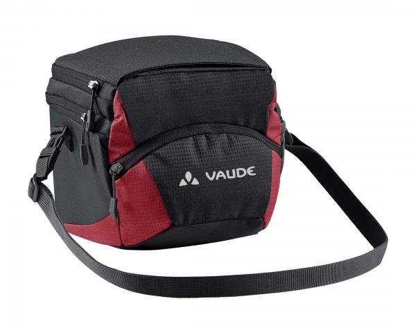 Vaude OnTour Box M (KLICKfix ready) 4 Liter Lenkertasche | black-carmine