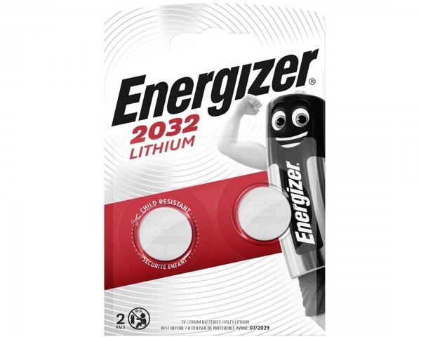 Batterie CR2032 Lithium 3V/240mAh 2er-Set