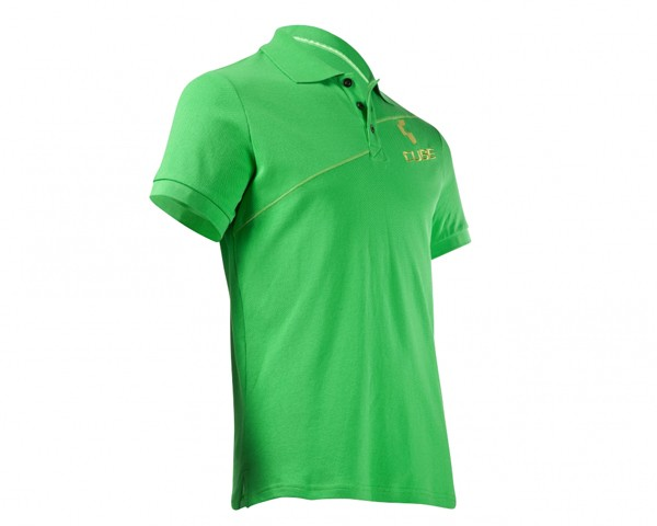 Cube Polo Shirt Diagonal | green