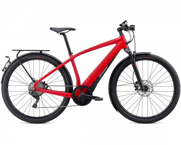 Specialized Vado 6.0 45 km/h - Pedelec Trekking Bicycle 2020 | flo red w-blue ghost pearl