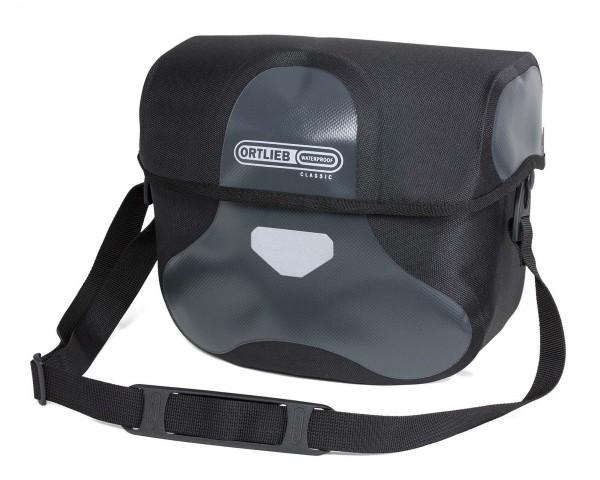 Ortlieb Ultimate6 L Classic, waterproof cycle handlebar bag | asphalt-black