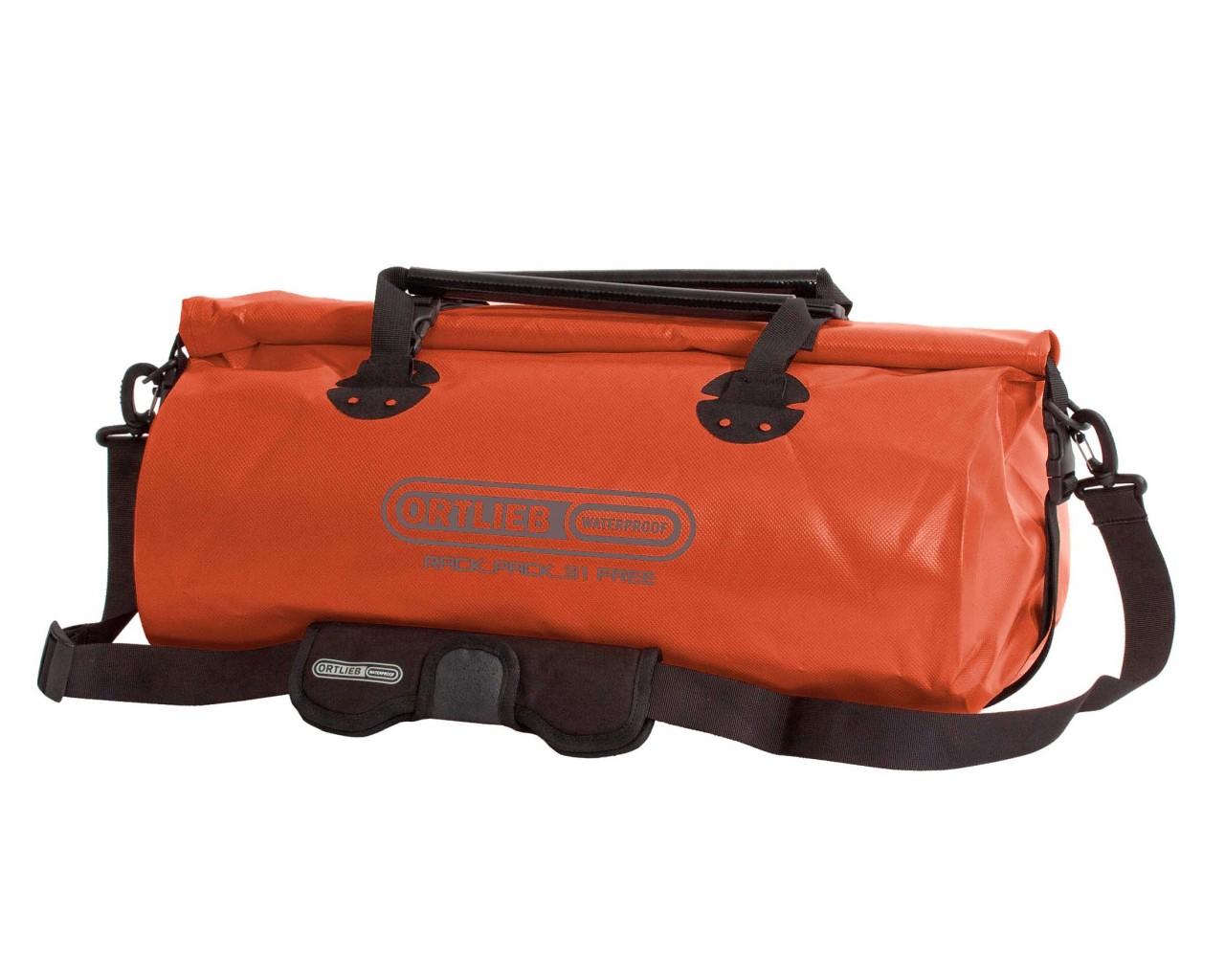 Ortlieb Rack-Pack Free 31 litres waterproof Tasche PVC free | rust