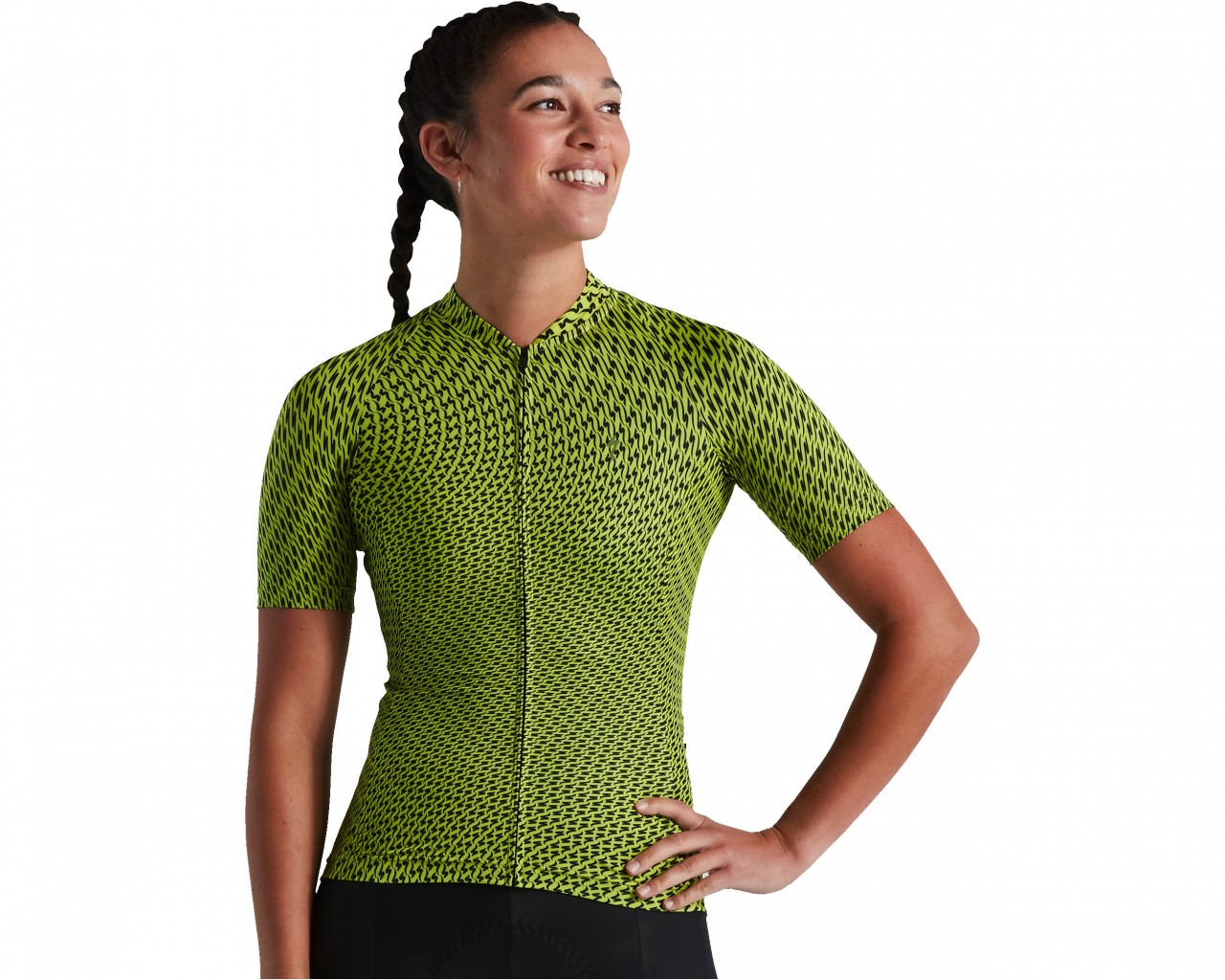 Specialized SL Bicycledelics Women Jersey shortsleeve | hyper green-black